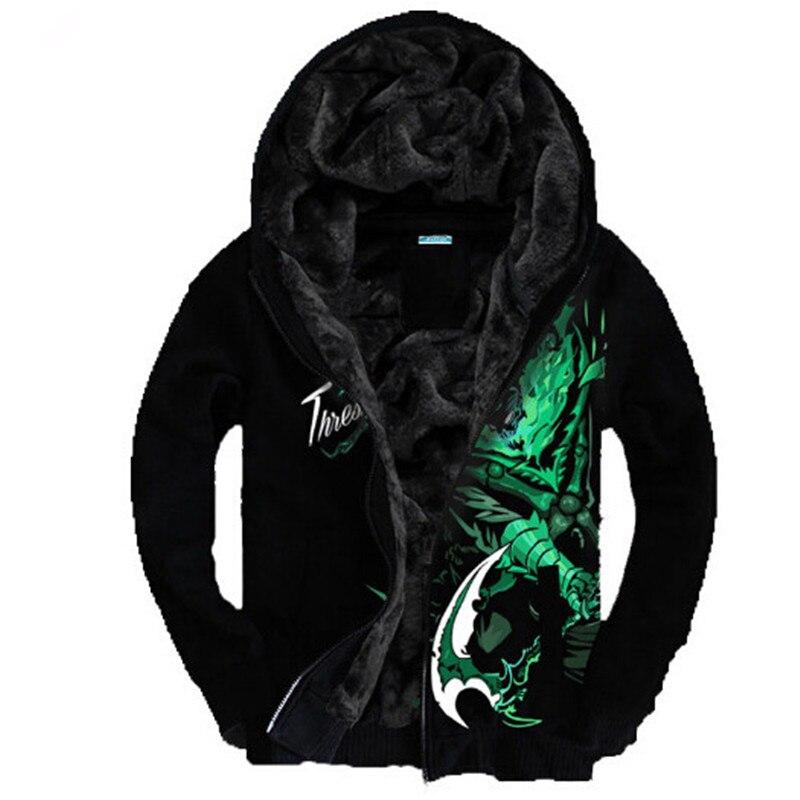 a7456561cde23 Kazak Erkekler LOL 3D Marka-Giyim erkek Moda Kazak Hoodie Ceket Chándal  Hombre Erkek Rahat Polar Hoodies Ceket erkekler
