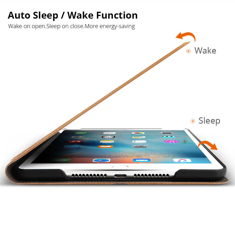 حافظة لجهاز iPad الهواء 1 2 5 6 مثيت مغناطيسي بو الجلود حالة غطاء ذكي ل جديد باد 9.7 2017 2018 5th 6th الجيل فوندا كوكه