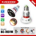 BC-785YM EAZZYDV Bulb Lamp Início HD 720 P CÂMERA IP de Rede Wi-fi Câmera de Segurança CCTV Câmera de Vigilância de Vídeo Sem Fio Apoio TF cartão