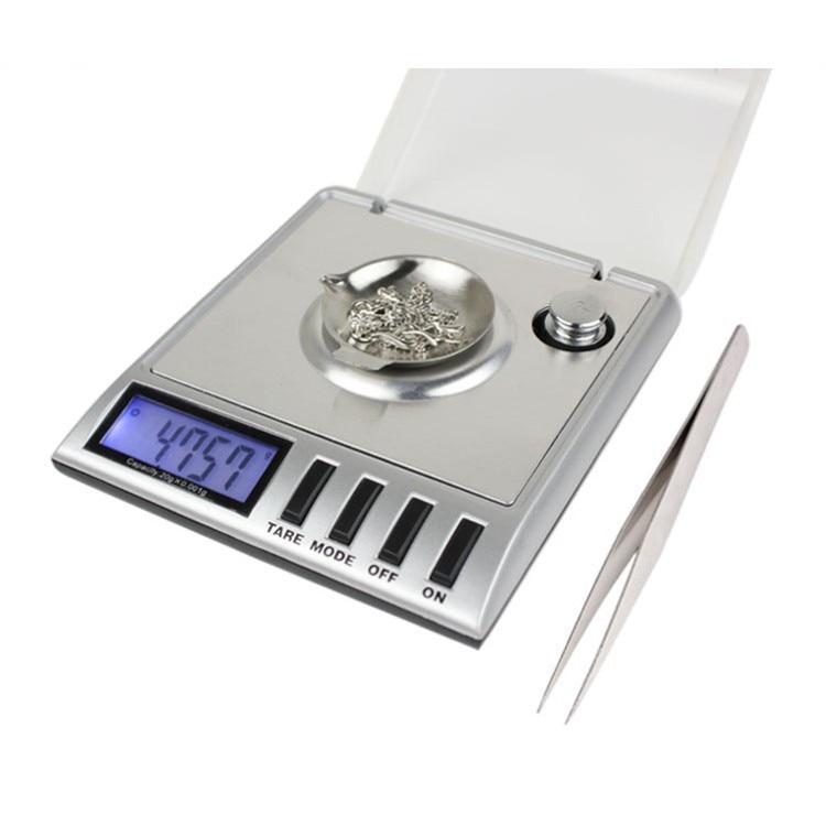 0.001g x 30g Mini Digital Jewelry Scale Milligram Gram Precise Weighing Weight 6.5