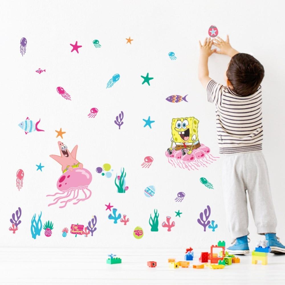 & Animals zoo cartoon SpongeBob SquarePants underwater world flowers ...