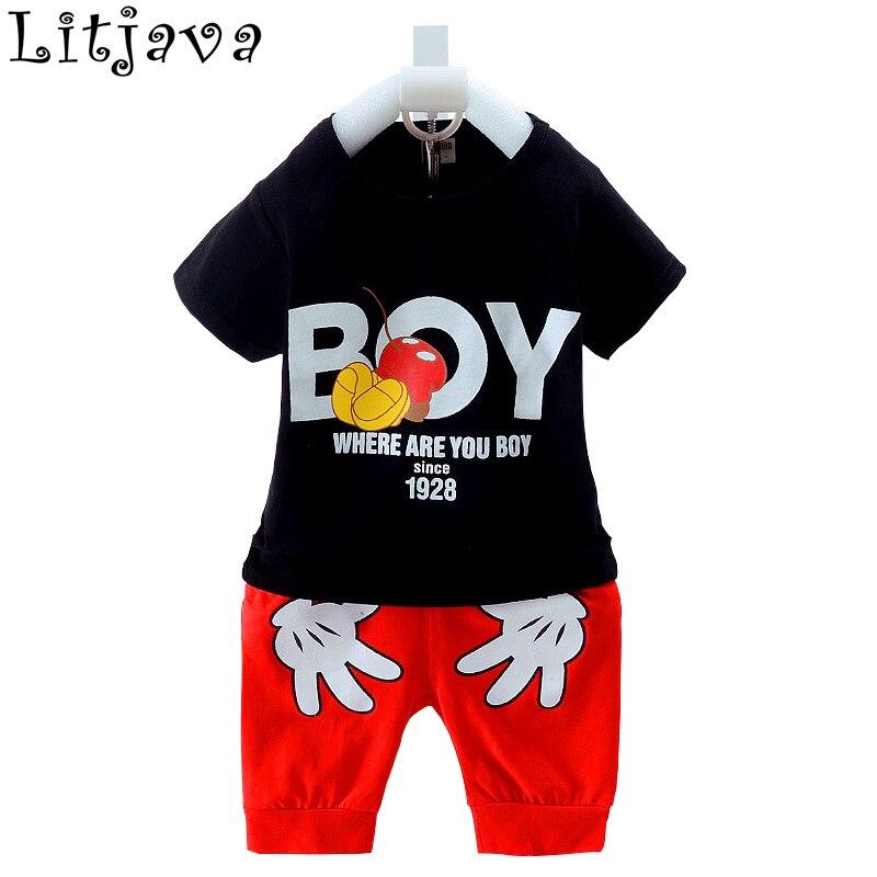 100% medvilnės šaltas kūdikių berniukų drabužių rinkinys - Kūdikių drabužiai - Nuotrauka 2
