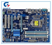 цена на Free shipping original motherboard for Gigabyte GA-Z77P-D3 DDR3 LGA1155 boards Z77P-D3 32GB Z77 desktop motherboard