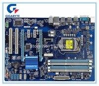 Free Shipping Original Motherboard For Gigabyte GA Z77P D3 DDR3 LGA1155 Boards Z77P D3 32GB Z77