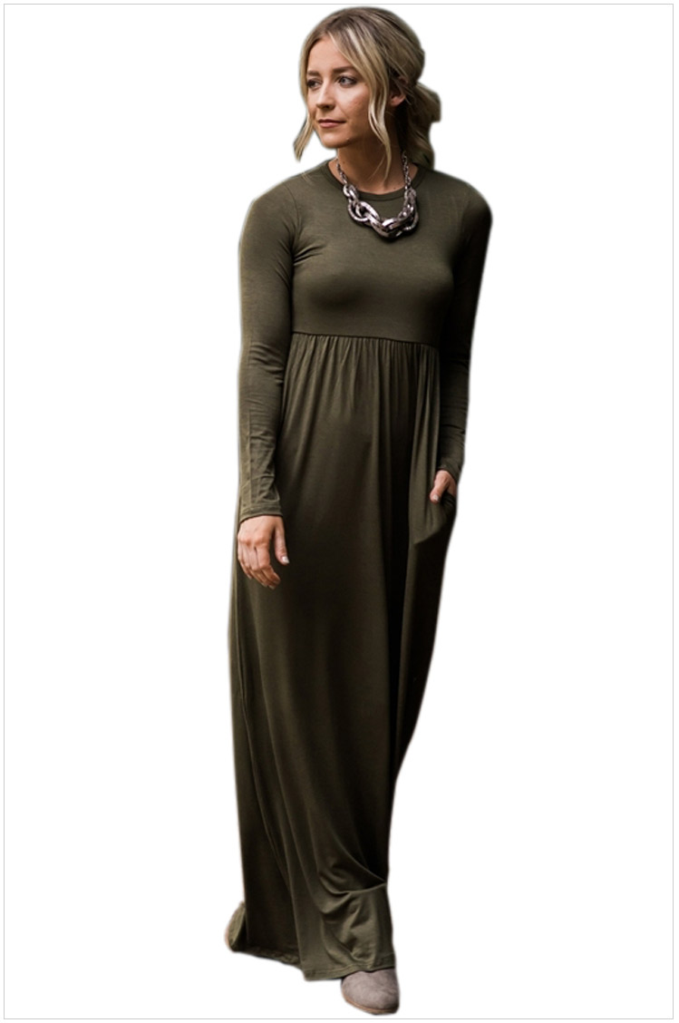 Maxi kleid winter