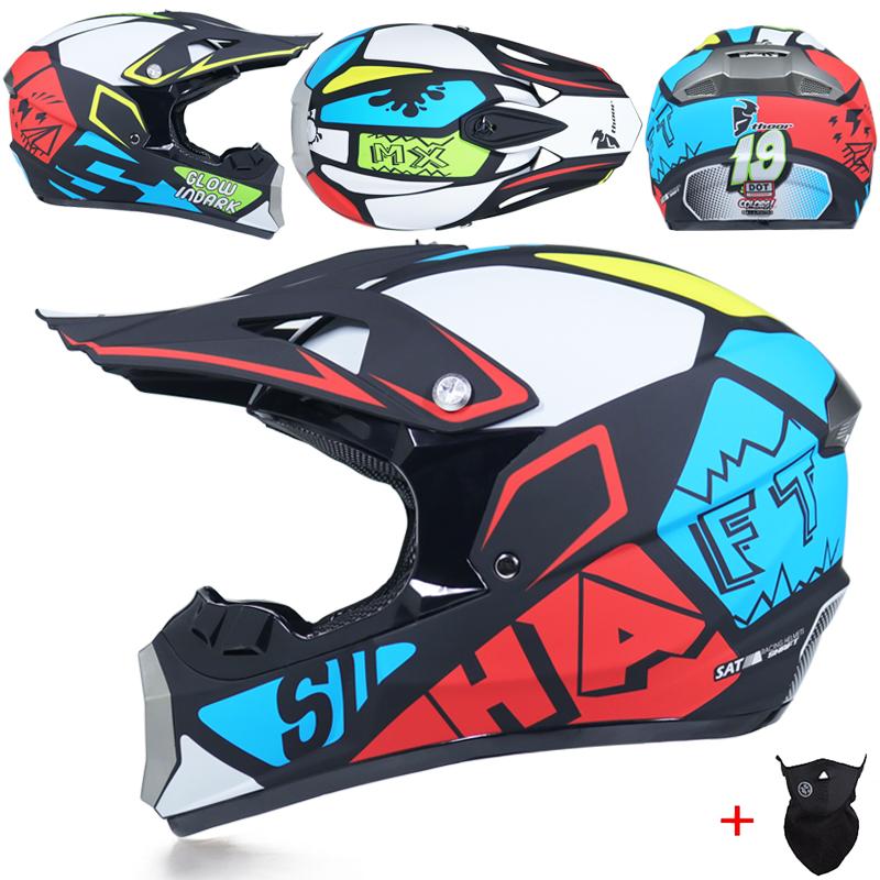Professional Light Motorcycle ATV helmet Off Road Helmet motocross Downhill helmet MTB DH racing helmet cross