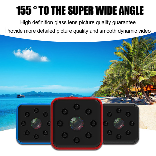 Original Mini Cam WIFI Camera SQ13 SQ23 SQ11 SQ12 FULL HD 1080P Night Vision Waterproof Shell CMOS Sensor Recorder Camcorder 4