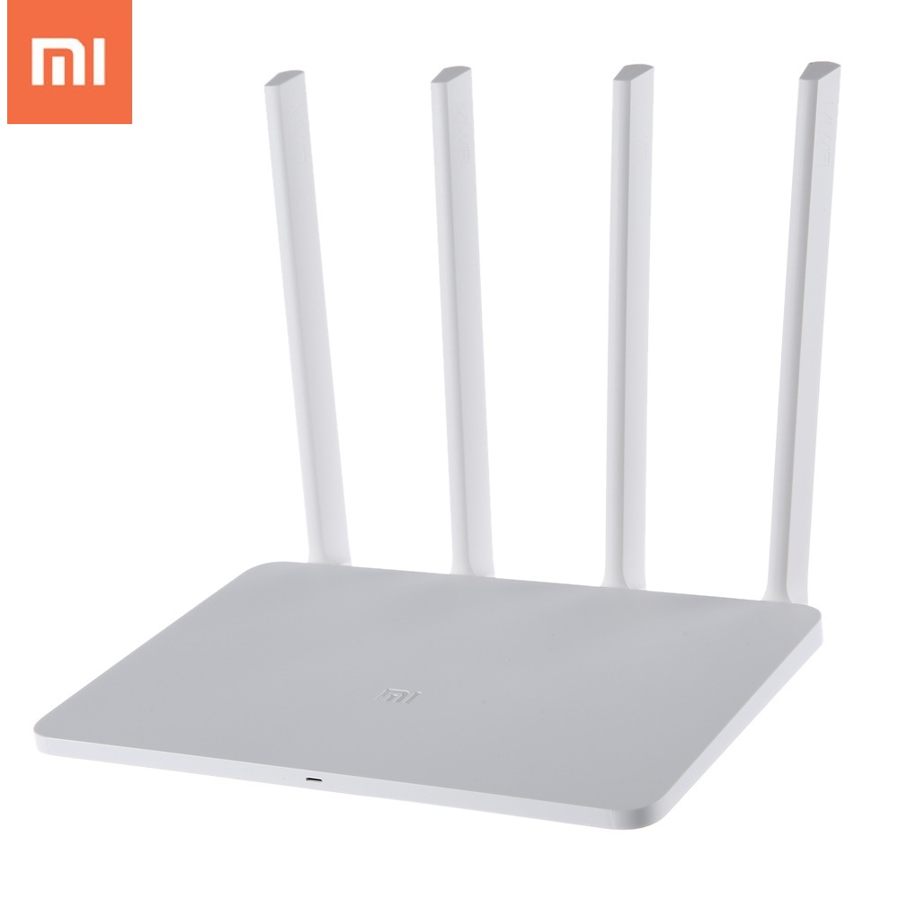 Original Xiao mi mi WIFI Router 3 Englisch Version 1167 Mbps Wireless Repeater 2,4g/5 ghz Dual Band 128 mb 4 Antennen Eu-stecker