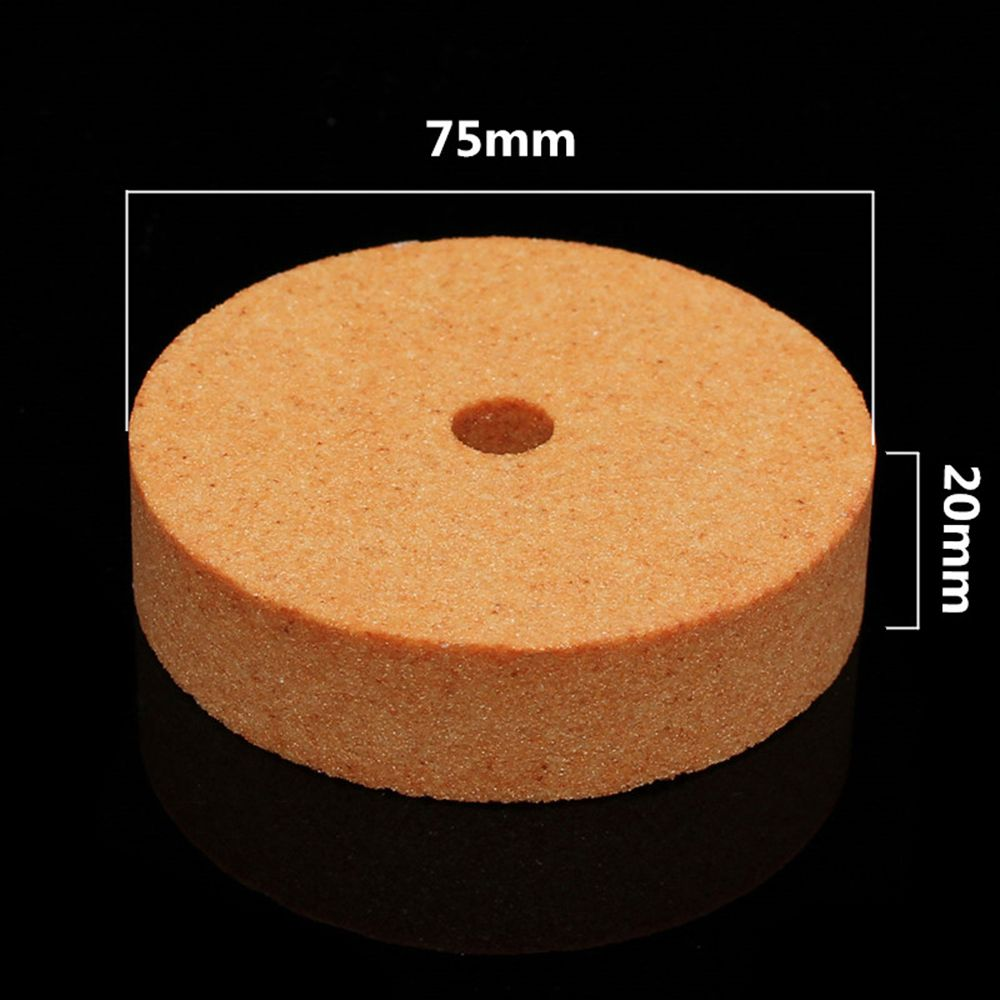 Image 5 - Top Selling 75*10*20mm 3 Inch Polishing Grinding Stone Wheel For Bench Grinders Metal Working High Quality-in Abrasive Tools from Tools