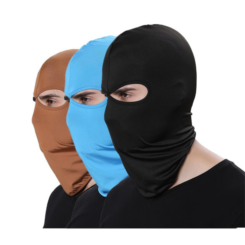 Outdoor Sports Motorcycle Face Mask Winter Warm Windproof Breathable Ski Snowboard Wind Cap Police Cycling Balaclavas Face Mask