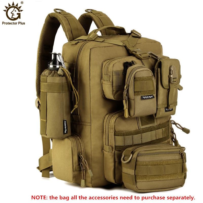 30L Militaire Sac À Dos 14 pouces Ordinateur Portable Hommes Multi-fonction Étanche Nylon Pack Pack Voyage Sac À Dos Bolso Mochila