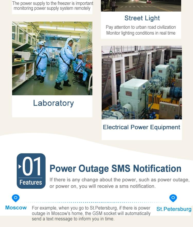 GSM Смарт Мощность розетка сотового телефона Английский Русский SMS дистанционного Управление синхронизации Переключатель Регулятор