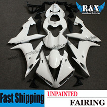 ZXMT For YAMAHA YZF R1 2004-2006 2005 Unpainted Injection Fairing Kit Bodywork Frame UV light curing paint