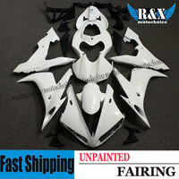 ZXMT For YAMAHA YZF R1 2004 2006 2005 Unpainted Injection Fairing Kit Bodywork Frame UV light curing paint