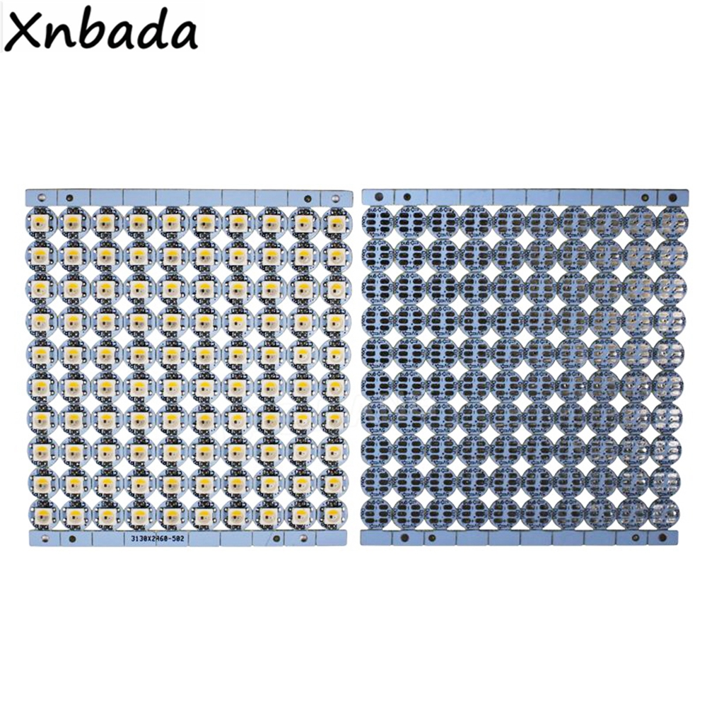 WS2811 WS2812B SK6812 Led Chip y disipador de calor PCB 5050 RGBW luz SMD IC WS2812 Chip direccionable individualmente Digital DC5V