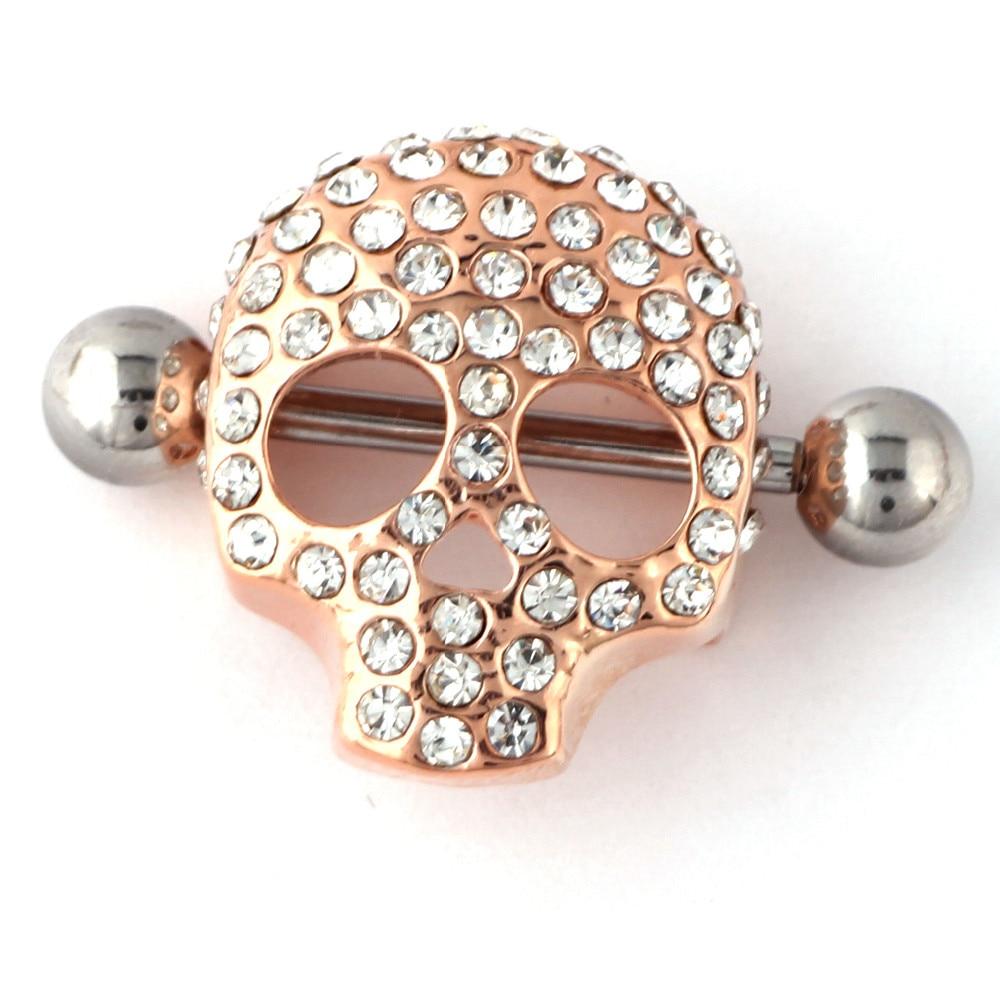 6Pcs Gold Nipple Rings Sexy Lady Jewelry Shields Nipple -4655