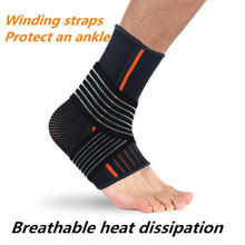 Sports Adjustable Elastic Ankle Movement Protection Support Brace Strap Women Men Anckle Protect Straps drop shipping