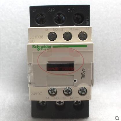 Contactor  LC1D38  LC1D38BD  LC1D38BDC  coil DC24V   38A