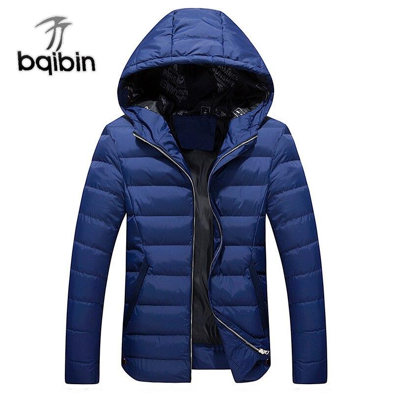 2019 Winter Men Cotton Padded Thicken Jacket Autumn Plus Size Male Fashion Windbreak Warm Parka Outwear Varsity Hooded Long Coat
