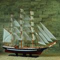 "1pcs 63"" handmade GORCH FOCK sailing boat Detailed Wooden Model Nautical Decor via EMS shipping."