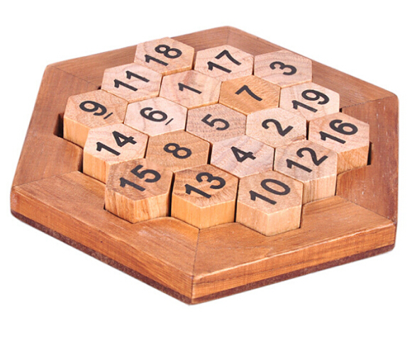 Classic IQ Math Wood Game Toy Mind Brain Teaser Wooden Puzzles for Adults Children Kids metal puzzle iq mind brain game teaser square educational toy gift for children adult kid game toy