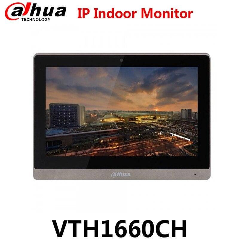 Dahua VTH1660CH Original Anglais Version 10-pouces Moniteur Couleur Intérieure 10.2 TFT Capacitif écran tactile Remplacer VTH1550CH