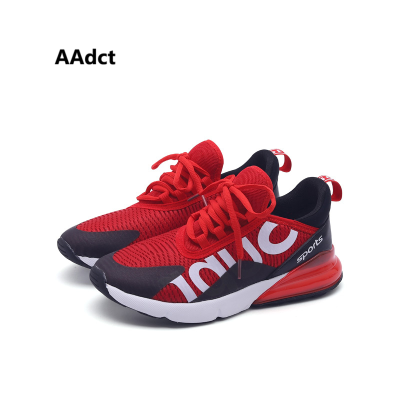 AAdct Mesh breathable big kids shoes running sports children shoes for boys High-quality Brand girls shoes sneakers casual new