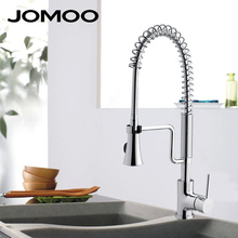 JOMOO kitchen faucet mixer tap pull down sprayer swivel rotatable single hole single handle sink faucet 3332