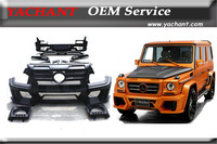 FRP Fiber Glass Body Kit Fit For Benz G Class W463 Waald Sports Line Black Bison Edtion Style Body Kit Bumper Spoiler Fender