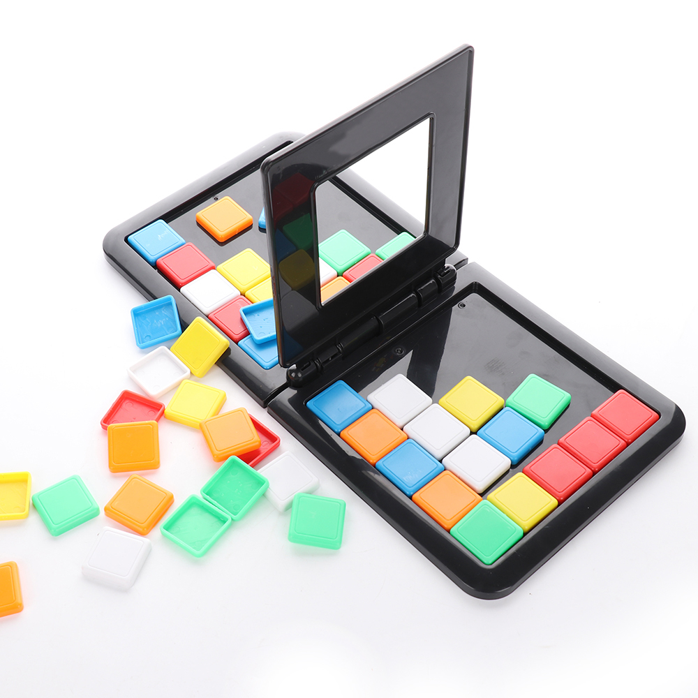 MrY Parent-child interaction Colorful Sport game Puzzle Cube 3 D Puzzle Race Cube Board Game Kids Adults Education Toy