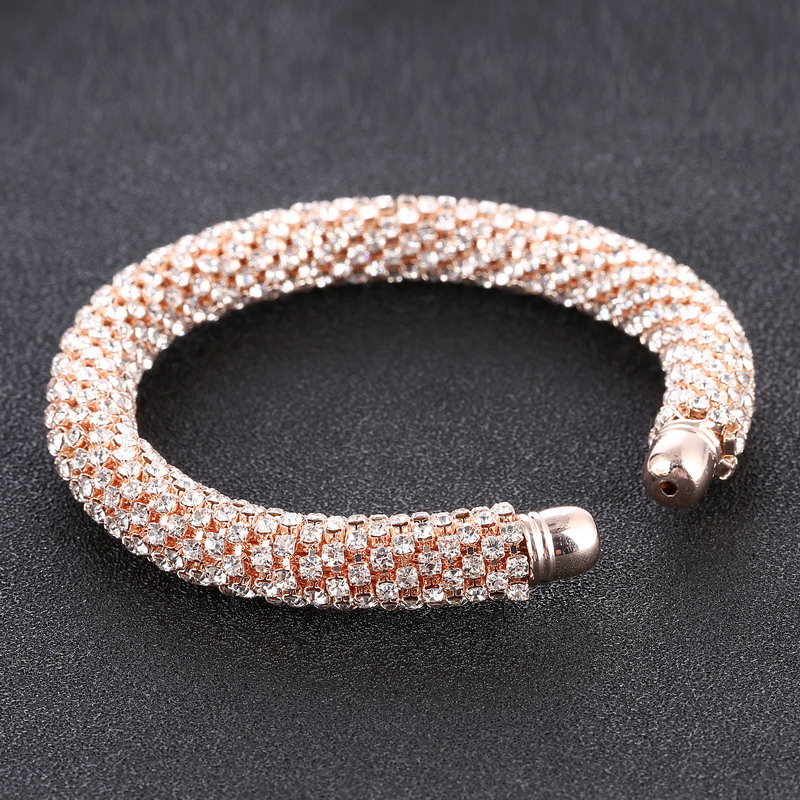 LOVBEAFAS Fashion Luxury Cuff Bracelets & Bangles For Women Crystal Rhinestone Vintage Bracelets Fine Jewelry Accessories 13