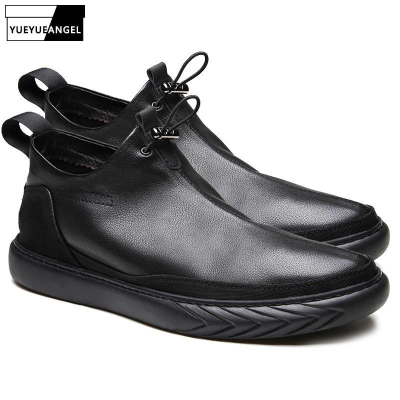 Casuais Superior Couro Lateral Quente black Top Homens Black Plush Qualidade Homme Low Chaussure Inverno Real Zíper Flats Dos Formadores De Preto Sapatos Leather wTX0vtwxq
