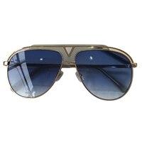 Vintage Oval Sunglasses Women Luxury Brand Designer Fashion Oversized Unisex Metal Frame Color Lenses Sun Glasses Female