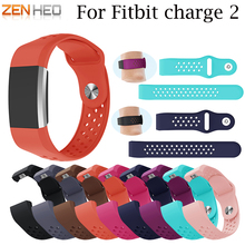 Colorful Soft Silicone Strap Bracelet For Fitbit Charge 2 Watch Band Wrist Strap For Fitbit Charge 2 Smart Watch Wristband New fitbit charge 2 replaceable watch strap black