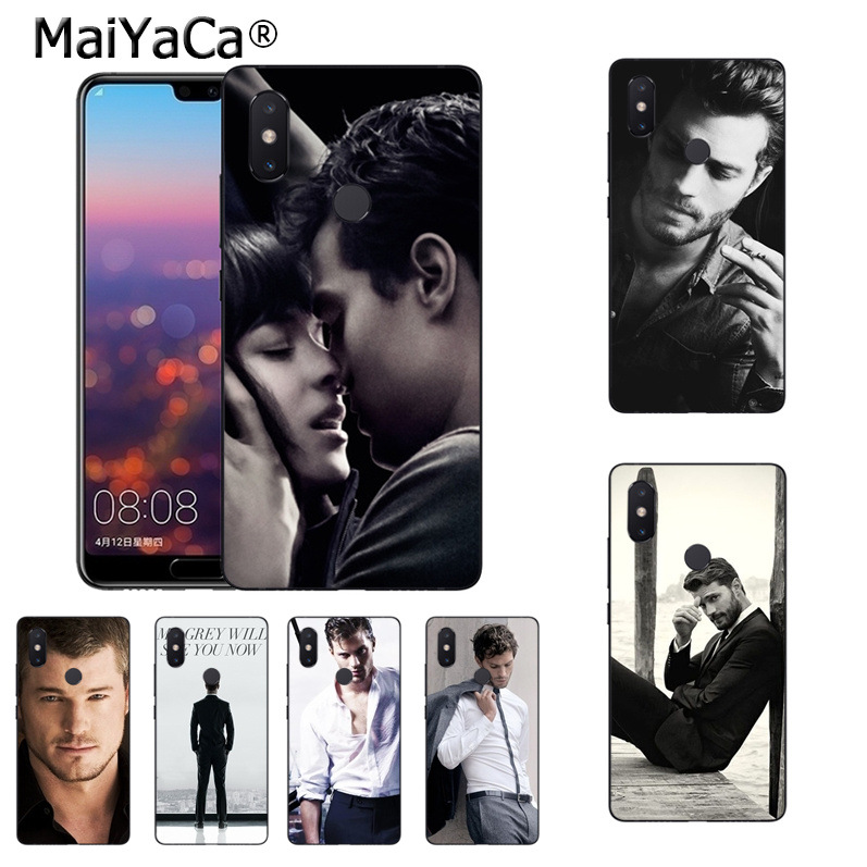 MaiYaCa Jamie Dornan Mr.Grey Christian Grey <font><b>Vertical</b></font> phone <font><b>case</b></font> for <font><b>xiaomi</b></font> <font><b>mi</b></font> <font><b>8</b></font> se 6 note2 note3 redmi 5 plus note4 5 Cover image