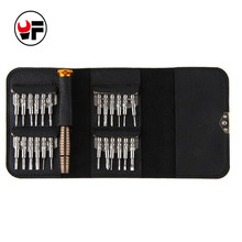 25 in 1 TORX pentalobe Screwdriver Set for iphone phonesprecision magnetic Head set tool kit mini small screwdriver bits DN109(China)