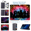 MTT 3D Print Youth Music PU Leather Cover Stand Case For SAMSUNG Galaxy E 9 6