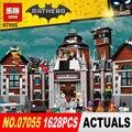 Nuevo 1628 Unids Lepin 07055 Genuino de la Serie de Películas de Batman Arkham Asylum Building Blocks Juguetes de Los Ladrillos con 70912