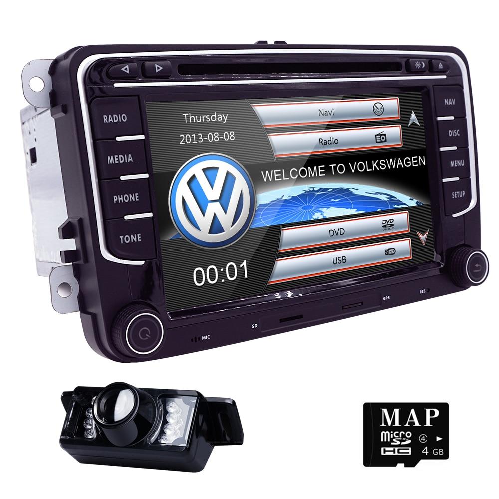 7 39 39 2din car dvd player radio gps navigation for vw golf. Black Bedroom Furniture Sets. Home Design Ideas