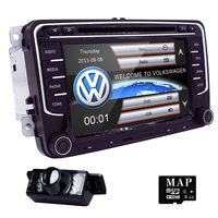 7''2Din Car DVD Player Radio GPS Navigation For VW Golf Polo Jetta Touran Mk5 Mk6 Passat B6 Stereo Bluetooth SWC RDS Mirror Link