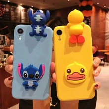 Cartoon soft tpu phone for xiaomi A1 a2 6 mix2 3 s A2 6X 8 9 se lite F1 max3 play note3 Lovely lie prone to lie prone phone case s lie sne