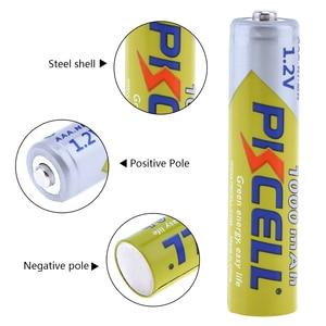 Image 3 - 12 ピース/ロット PKCELL ニッケル水素電池 AAA 1000mAh 1.2V ニッケル水素充電式バッテリー 3A 電池 Baterias カメラ懐中電灯用のおもちゃ