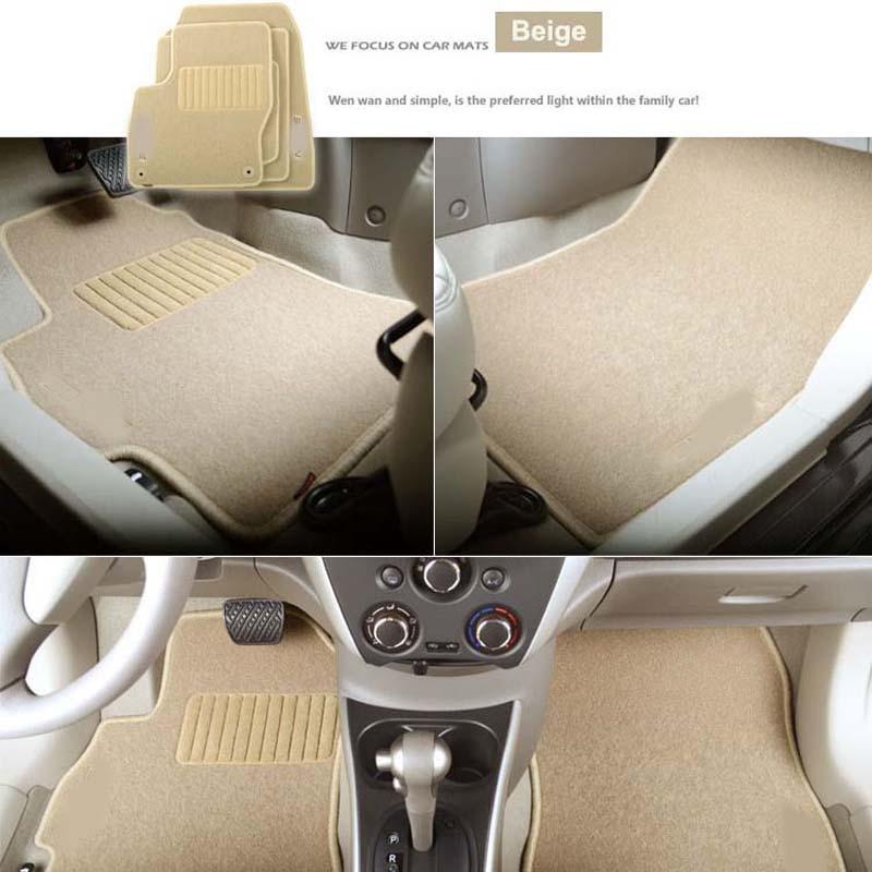 6pcs Премиум Авто мата Нейлон - Автокөліктің ішкі керек-жарақтары - фото 2