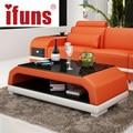 Ifuns muebles/mesa de café/té mesa moderna originalidad almacenamiento doble mesa de patas de madera