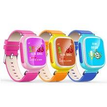 Q80 детская Smart Watch 1.44 дюймов цвет большой экран фунтов GPRS позиционирования кнопка дети наручные часы Английский/Русский язык