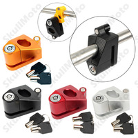 4 Color CNC Security Motorcycle Bike Brake Disc Safety Triangle Wheel Lock With 2 Keys UNDEFINED