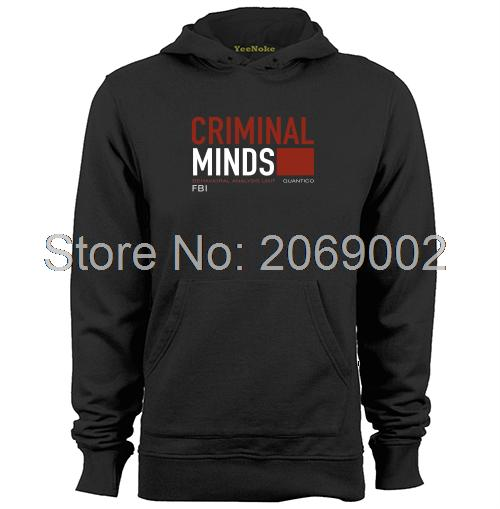 CBS TV Series Criminal Minds FBI BAU Behavioral Analysis Unit Mens & Womens Retro Custom Hoodies