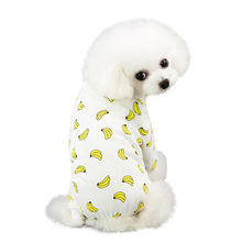 Trsnser Dog Dress Pet Spring And Summer Yellow Print Rabbit Dress Dogs Costumes Pet Clothes Vestido Perro 19Mer18 P35(China)