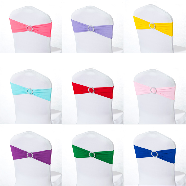 50pcs Pack Heart Crown Round Buckle Bow Tie Elastic