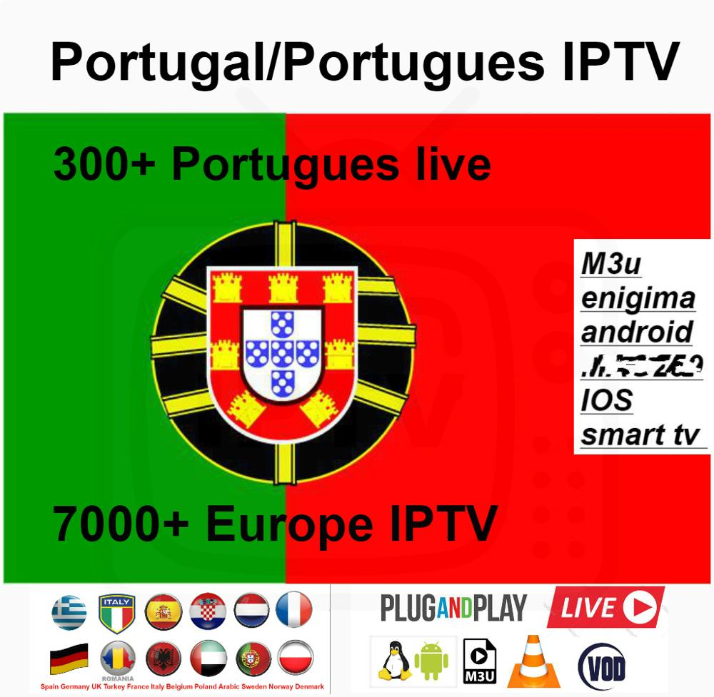 300+ Portugal/Portugais IPTV 7000+ Europe Live/vod Português Italy Germany France Spain Netherlands Adult Football M3U Android